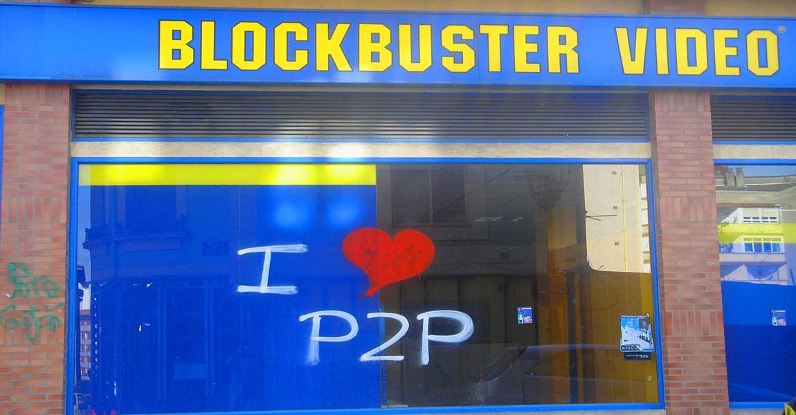 """Imagem: """"I love P2P"""" publicada por Manuel Gonzalez Noriega em sua galeria no Flickr. Material distribuído por licença de direitos autorais aberta Creative Commons CC BY-SA 2.0."""
